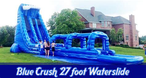 water slides moonwalks