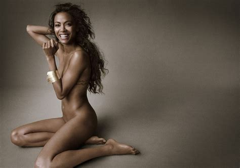 Damn Zoe Saldana Nude And Topless Leaked Exclusive