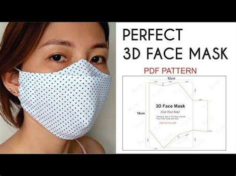 pin  annette dudley wright  sewing easy face masks