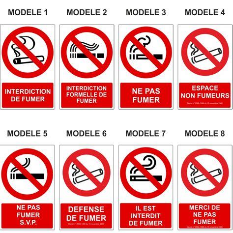 affiche ne pas d anger pour bureau panneau interdiction de fumer signalétique interdiction