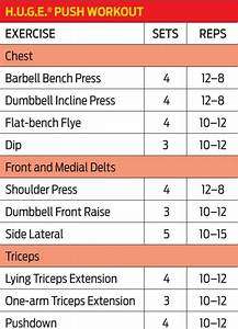 4 Day Push Pull Workout Routine Pdf