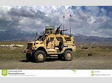 Czech Armored Vehicle In Afghanistan Editorial Image