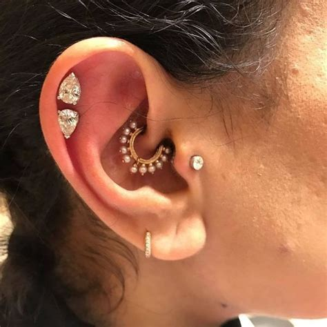 daith piercing ideas pain procedure aftercare jewelry