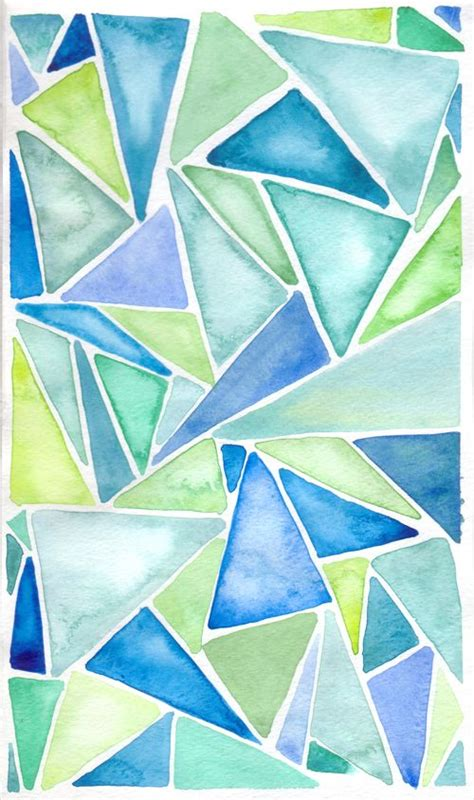 Easy Abstract Shapes by Best 25 Watercolor Ideas Ideas Water Color Painting
