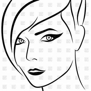 Facial Outline Pictures to Pin on Pinterest - PinsDaddy