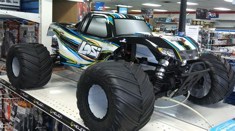 Team Losi 15 Monster Truck Xl 4wd Rtr With Avc Quick Look