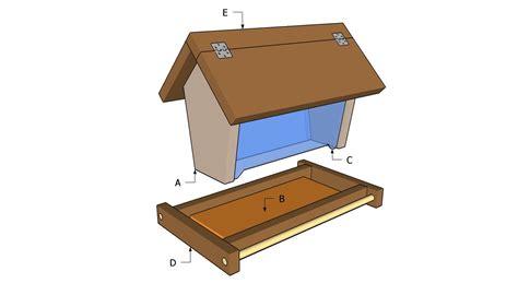 bird feeder plans myoutdoorplans  woodworking