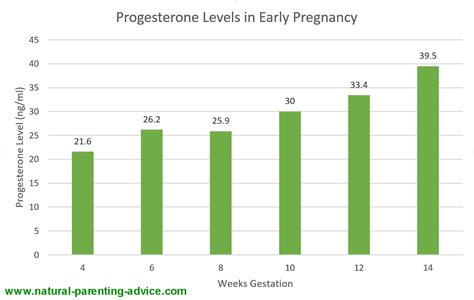 progesterone levels  early pregnancy