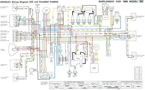1983 Kawasaki Wiring Diagram by Some Kz 400 500 550 Wire Diagrams