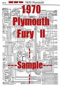 1970 Plymouth Fury Ll Full Car Wiring Diagram  High