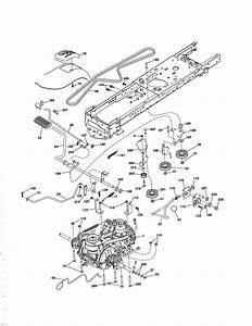 Poulan Pro Drive Belt Diagram