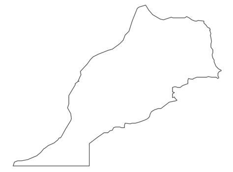 geo map africa morocco