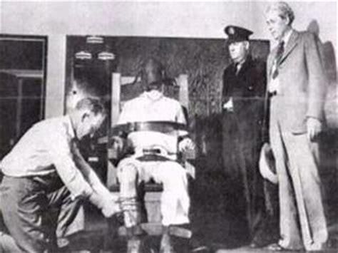 chaise electrique execution peine de mort la chaise électrique la cruauté de l