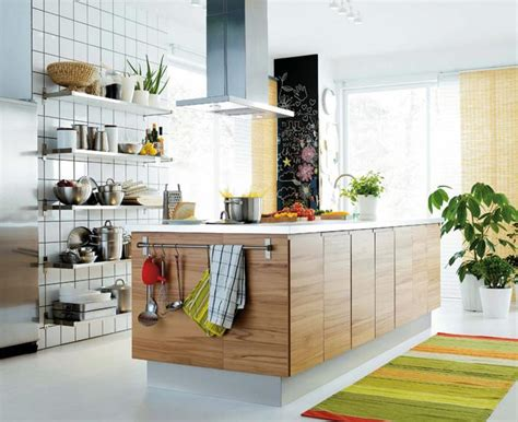 belles cuisines contemporaines les plus belles cuisines ikea cuisine solar hêtre ikea