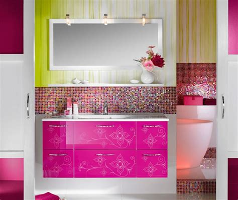 Colored Bathroom by 15 Lively Multi Colored Bathroom Designs Home Design Lover