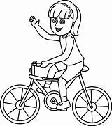 Bike Street Coloring Pages Bicycle Getdrawings Bmx sketch template