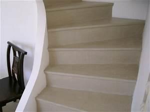 Recouvrir Escalier Béton : application du beton cire sur un escalier arcane industries ~ Premium-room.com Idées de Décoration