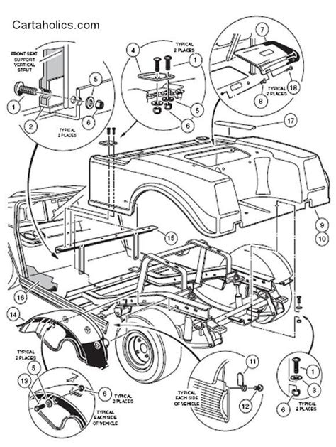 Club Car Golf Cart Diagram by Cartaholics Golf Cart Forum Gt Club Car Ds Diagrams