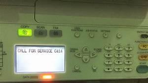 Toshiba Estudio 2007  2306  2506 Error Code C414 Reset