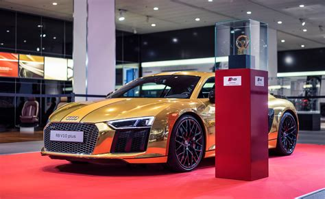 audi     official chrome gold wrap