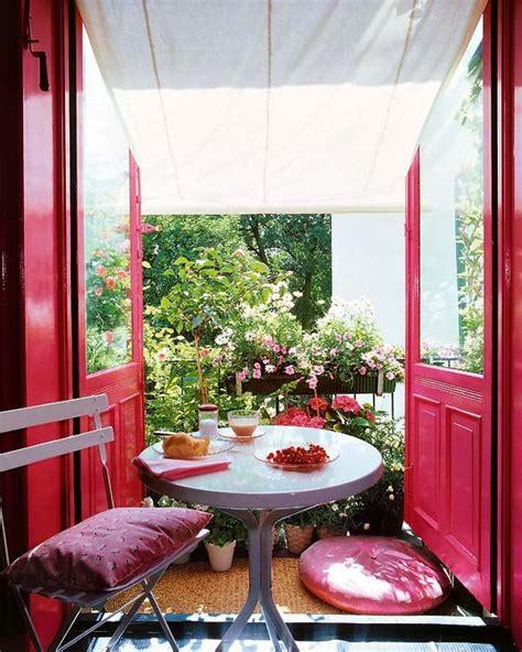 pink romantic balcony homemydesign