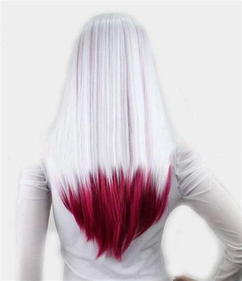 pin  agnes erdos  haj dyed hair hair styles ombre hair