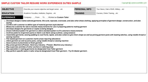 how to tailor a resume to a description resume how to