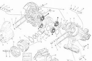 97804 Bearing  Engine  Main Bearing  Large Vespa Scootermercato Com