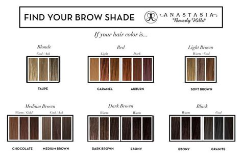 brow wiz colors best 25 brow ideas on