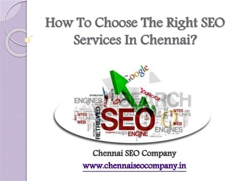 how to choose the best seo services in chennai