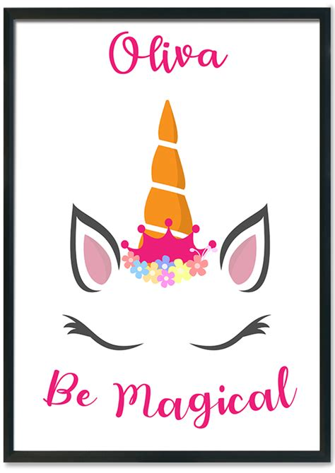 unicorn  magical prints    mixed design