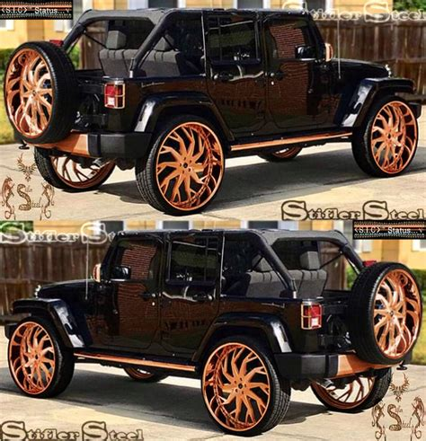 jeep mercedes rose gold jeep rose gold finish illustration projects to try out