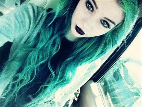 Pastel Goth Girl Tumblr Hair Hair Color Blue Hair