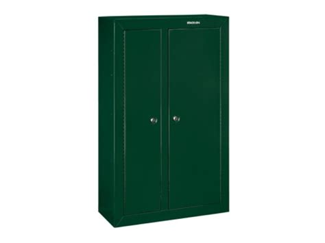 Stack On Security Cabinet 10 Gun by Stack On 10 Gun Door Security Cabinet Green