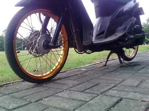 Modif Mio Sporty Velg 17 by Modifikasi Mio Sporty Simple Modifikasi Velg Mio Ring 17