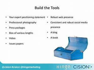 Cision Webinar: How to Gain Exposure as an Industry Expert