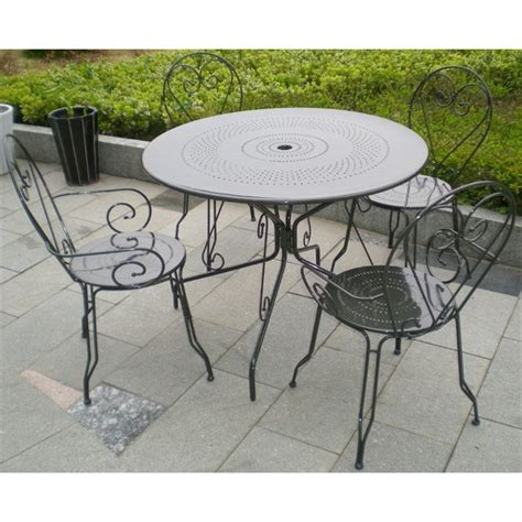 Stunning Table De Jardin Romantique Metal Photos - Awesome Interior Home - satellite-delight.us