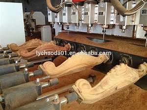 Furniture Legs Mass Production!! Cnc Wood Carving Machine