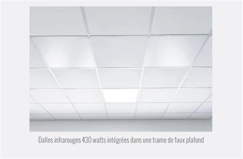 dalle pour faux plafond panneaux infrarouges quot dalles de faux plafonds quot redwell