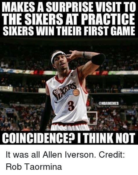 Allen Iverson Meme - funny allen iverson memes of 2017 on sizzle philadelphia 76ers