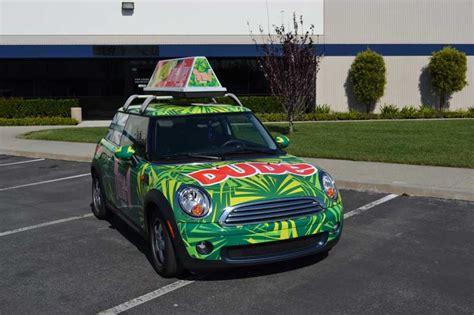 mini cooper full vehicle wrap orange county ca