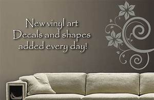 renew your room with custom vinyl wall decals in decors With custom wall lettering