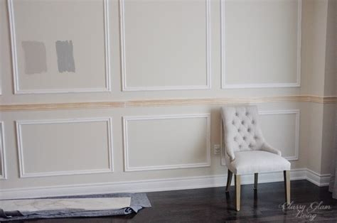 Restoration Hardware Inspired Diy Wainscoting & Chair Rail