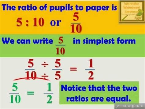 Learning Mathematics Grade 7  Ratio And Proportion Youtube