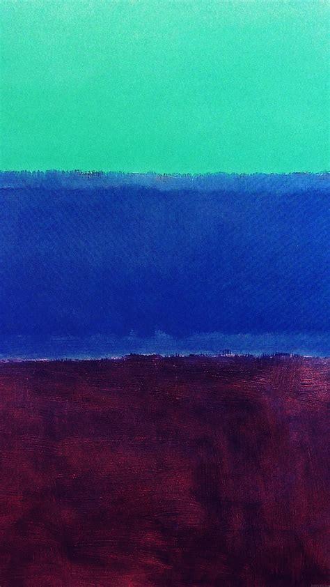 al mark rothko style paint art greeb blue classic wallpaper