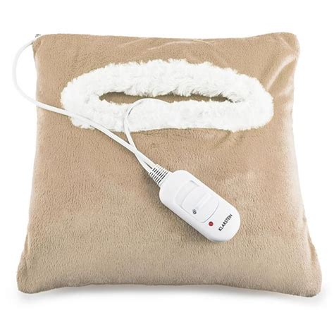 electric cold pillow winter dreams heating pillow 45w 35 x 35cm fleece