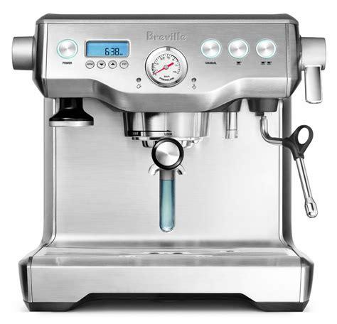 Breville Stainless Steel Dual Boiler Espresso Machine   cutleryandmore.com