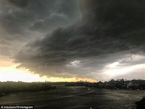 bureau of metrology sydney hit by storms again after morning lightning strikes