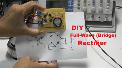 diy wave bridge rectifier project