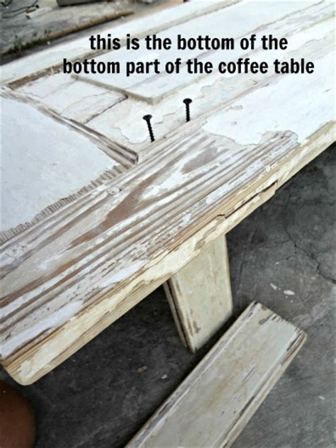 how to make table legs from wood how to make a wood coffee table out of old doors assembly